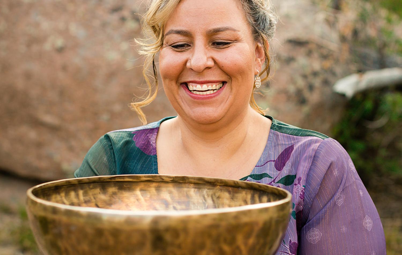Theresa Chavez, Wellness Yoga Instructor & Singing Bowl Practitioner