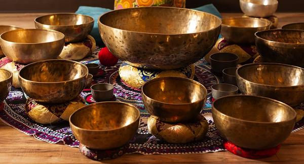 Vibrational Sound Healing singing bowls